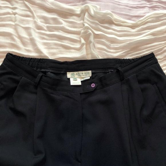 Austin Reed Pants Jumpsuits Austin Reed Black Classic Pant Poshmark